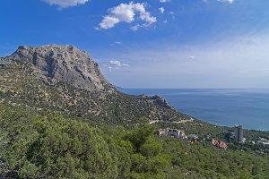 Typical Crimean landscape.