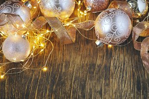 Christmas tree decoration glass ball