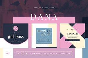 Dana Social Media Pack
