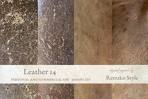 Leather Photoshop Textures