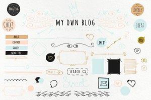 Light Blog Kit