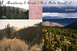 Mountains & Forests Photo Bundle #1