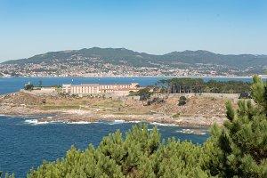 Fortress of Baiona, Galicia,Spain