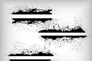 Dirty Banner Vectors