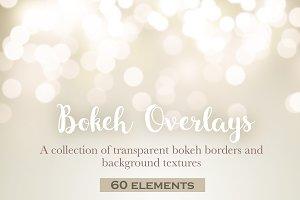 Bokeh border overlays