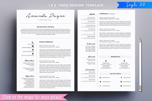 Resume/CV Mega Bundle