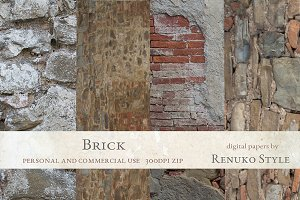 Brick Photoshop Textures