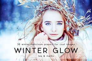 30 Winter Glow Lightroom Presets
