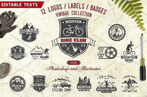 Mountain Bike Club -Graphicriver中文最全的素材分享平台