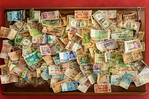 background money collection