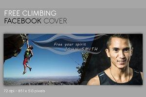 Facebook Cover Free Climbing