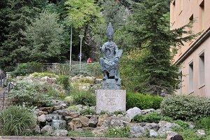 monument founder montserrat