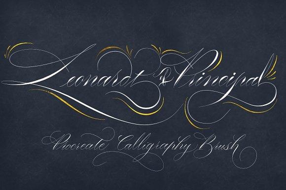 LEONARDT PRINCIPAL - Procreate brush