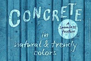 Concrete – a seamless texture