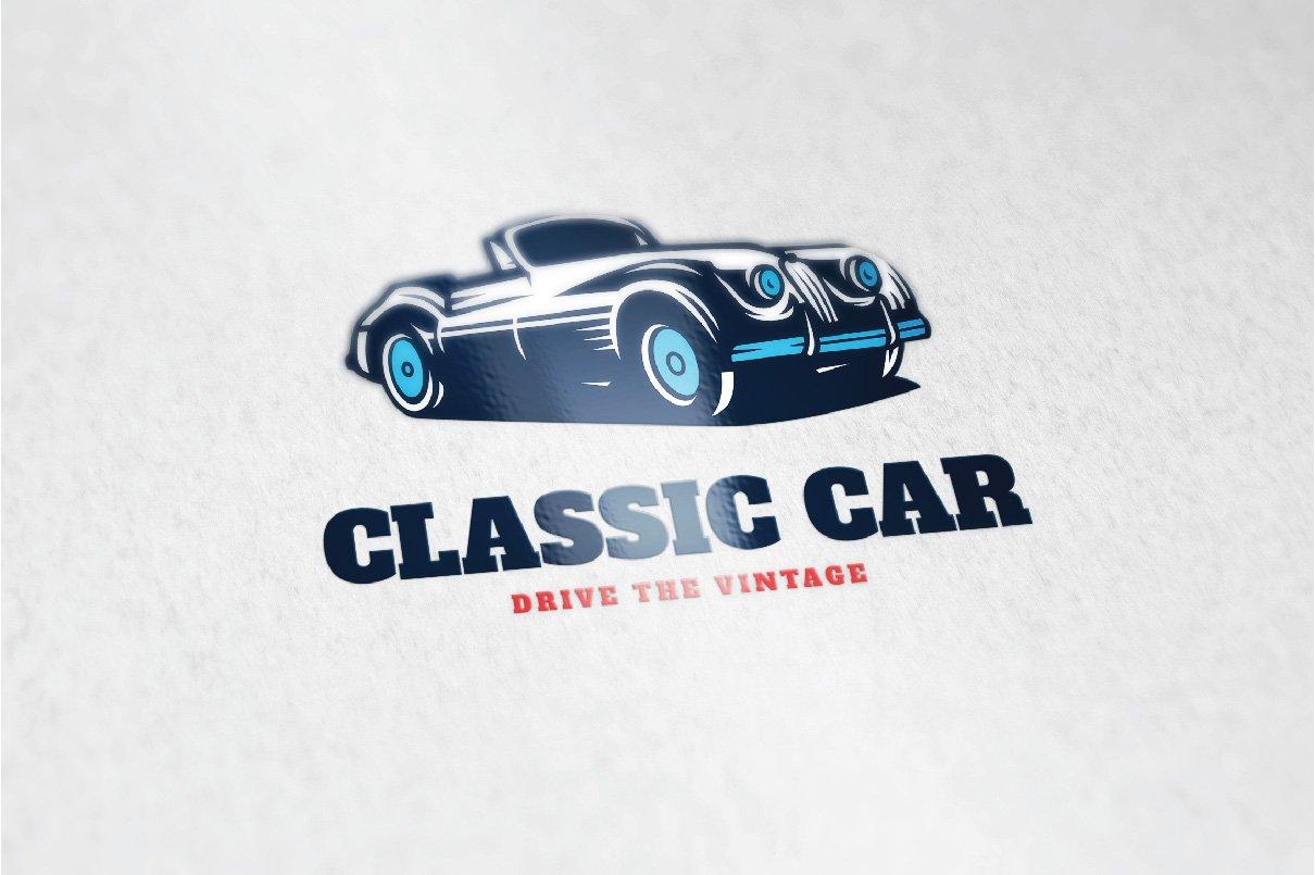 Classic Car Logo ~ Logo Templates ~ Creative Market