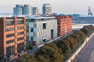 Offices and apartments in Copenhagen Denmark