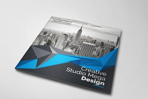 Creative Square Bi-Fold Brochure