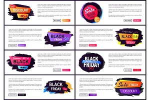 Only Today Black Friday Sale Vector Illustration