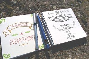 Outdoor Sketchbook Mock-up