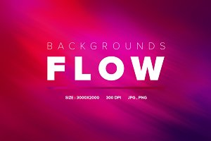 Flow Backgrounds