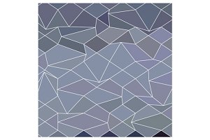 Blue Grey Abstract Low Polygon Backg