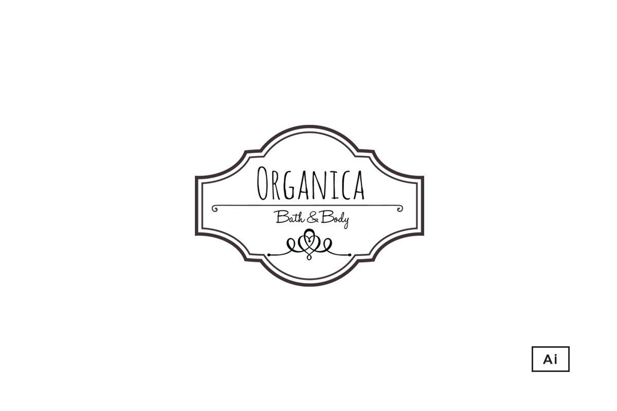 Organica Apothecary Style Logo