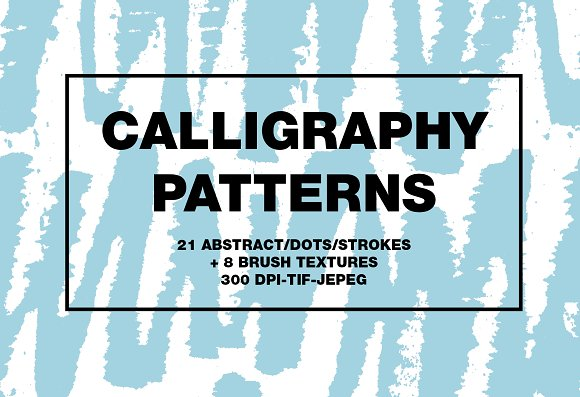 Calligraphy patterns in Patterns