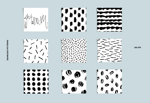 Calligraphy patterns in Patterns - product preview 2