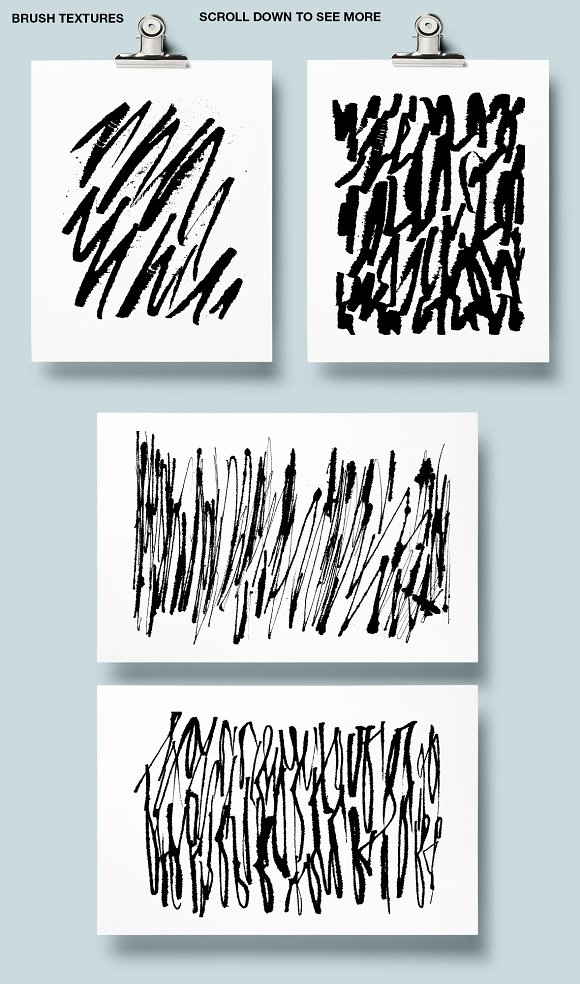 Calligraphy patterns in Patterns - product preview 5
