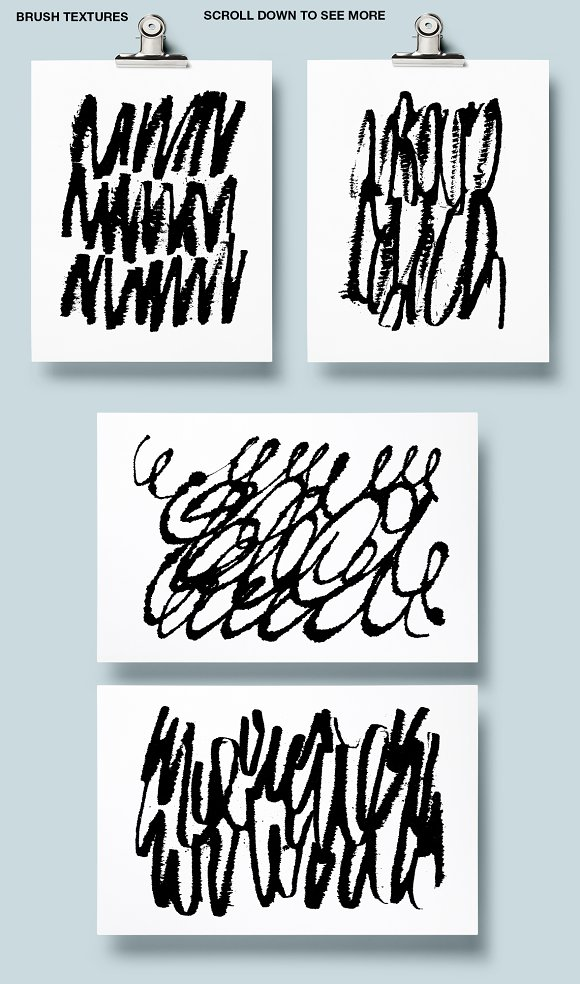 Calligraphy patterns in Patterns - product preview 6