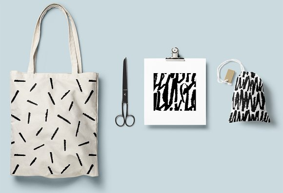 Calligraphy patterns in Patterns - product preview 9