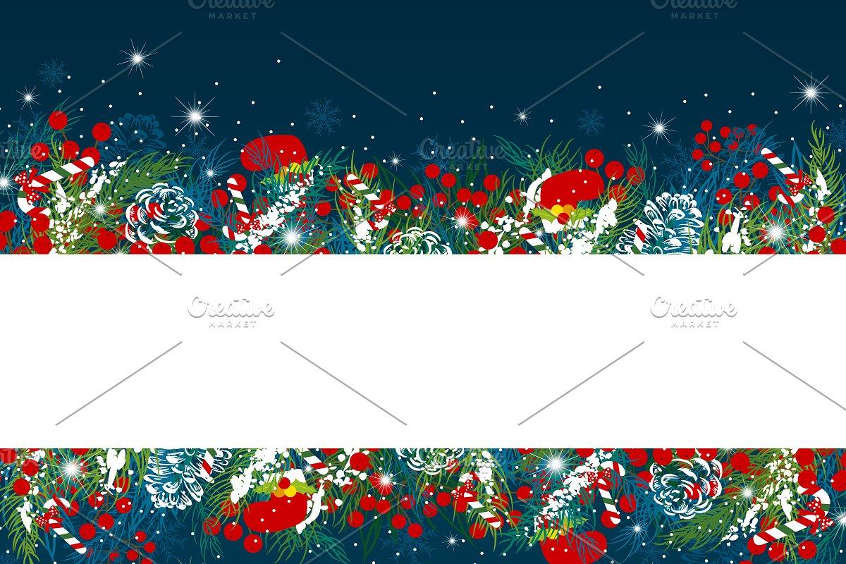 Christmas Background Design.Christmas Background Design