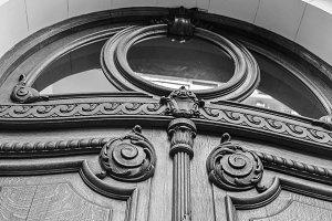 Vintage Detail Door