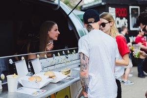 street food. food truck