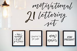 21 Mindfulness Lettering Quotes