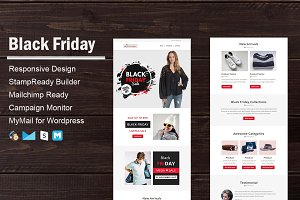 Black Friday - Email Template