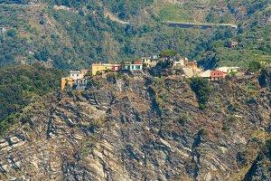 Corniglia coast, Cinque Terre, Italy