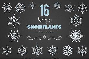 Snowflakes Set II