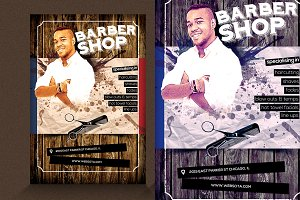 Barber Shop Flyer V1