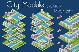 City module  bundle  RIVER CITY