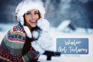 26 Winter Art Texture