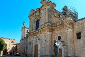 Medieval Oria town, Puglia, Italy