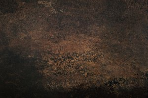 Dark brown abstract texture background. Top view, copy space, banner