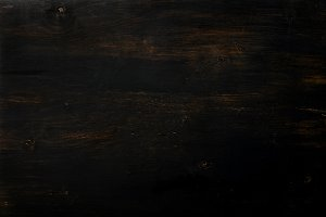 Old abstract wooden background. Vintage rustic texture, wallpaper. Blackboard. Top view, copy space. Banner
