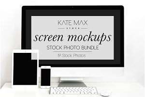 Tech Mockup Stock Photo Bundle
