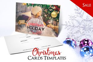 Merry Christmas - PSD Postcard Vol2