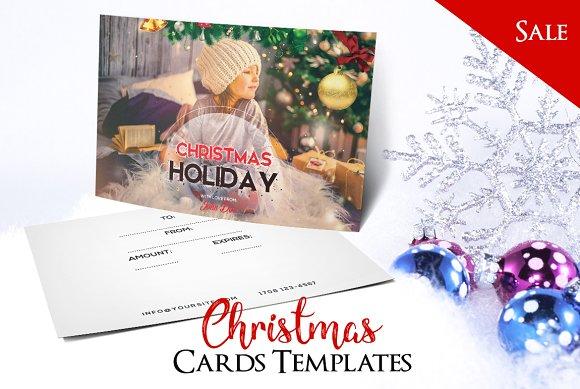 Merry Christmas - PSD Postcard Vol2