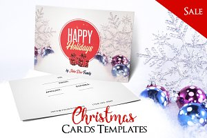 Merry Christmas - PSD Postcard Vol4