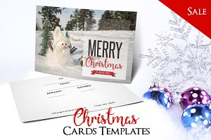 Merry Christmas - PSD Postcard Vol5
