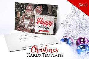 Merry Christmas - PSD Postcard Vol6